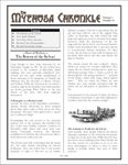 Issue: The Mythosa Chronicle (Volume 1, Number 11)