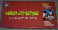Board Game: Library Adventure, The Fun Way to Learn