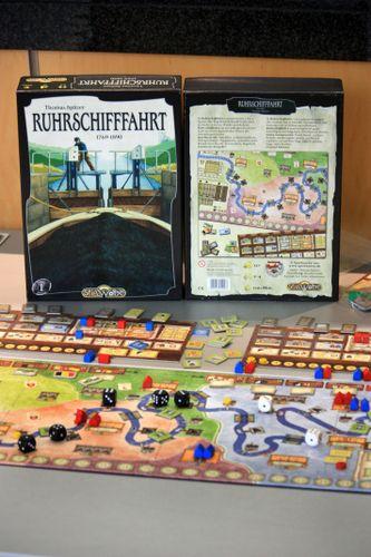 Board Game: Ruhrschifffahrt 1769-1890