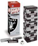 Board Game: Jenga: Oakland Raiders Collector's Edition