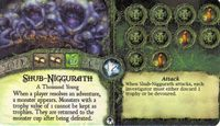 Board Game: Elder Sign: Shub-Niggurath Promo Card