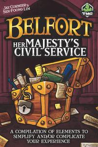 Belfort: Her Majesty's Civil Service Cover Artwork