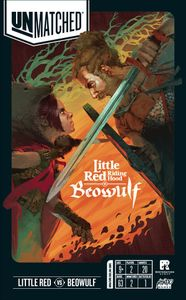 Unmatched: Little Red Riding Hood vs. Beowulf Cover Artwork