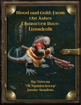 RPG Item: Blood and Gold: From the Ashes - Character Race: Lizardfolk