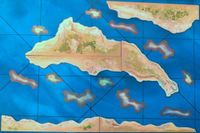 Board Game Accessory: Sails of Glory Terrain Pack: Coasts and Shoals