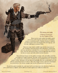 RPG Item: Gunslinger: A Martial Archetype for the Fighter Class