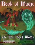 RPG Item: Book of Magic: The Lost Spell Words
