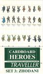 RPG Item: Cardboard Heroes: Traveller Set 3 - Zhodani