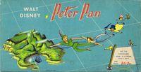 Board Game: Walt Disney's Peter Pan Game