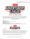 RPG Item: DDEX2-01: City of Danger