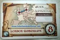 Board Game: Ticket to Ride: Europe – London/København