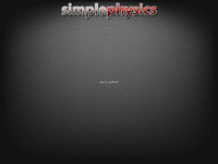 Video Game: SimplePhysics