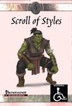 RPG Item: Scroll of Styles