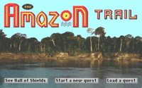 Video Game: The Amazon Trail