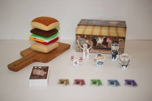 Board Game: Oh! Yummy Burger to Go!