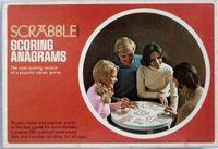 Board Game: Scrabble Scoring Anagrams