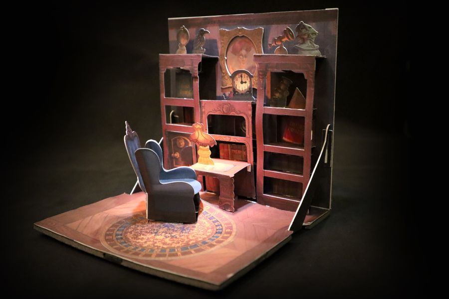 The new full-color prototype model of the Private Library!