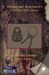 RPG Item: Miskatonic Repository Creator Resource: Curious Things Art Pack