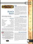 RPG Item: Black Rain
