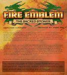 RPG Item: Fire Emblem: The Sacred Stones