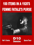 RPG Item: 100 Items in a 1920's Femme Fatale's Purse