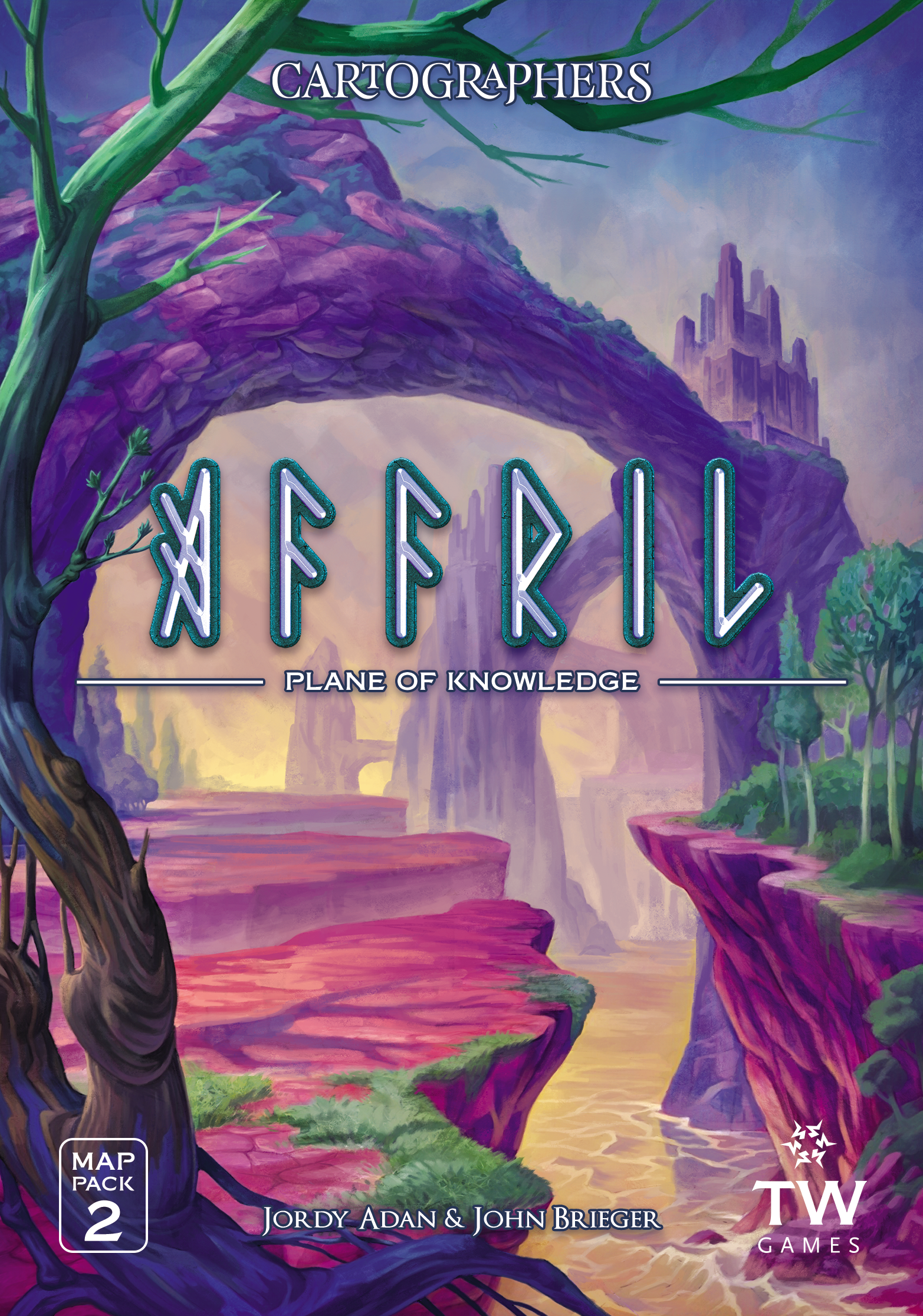 Cartographers Map Pack 2: Affril – Plane of Knowledge