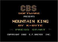 Video Game: Mountain King