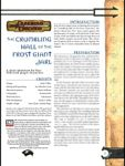 RPG Item: The Crumbling Hall of the Frost Giant Jarl