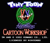 Video Game: Tiny Toon Adventures: Cartoon Workshop
