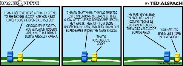 Board Game Designer: Reiner Knizia