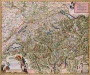 RPG Item: Antique Maps 15: Switzerland of the 1600's