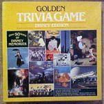 Board Game: Golden Trivia Game: Disney Edition