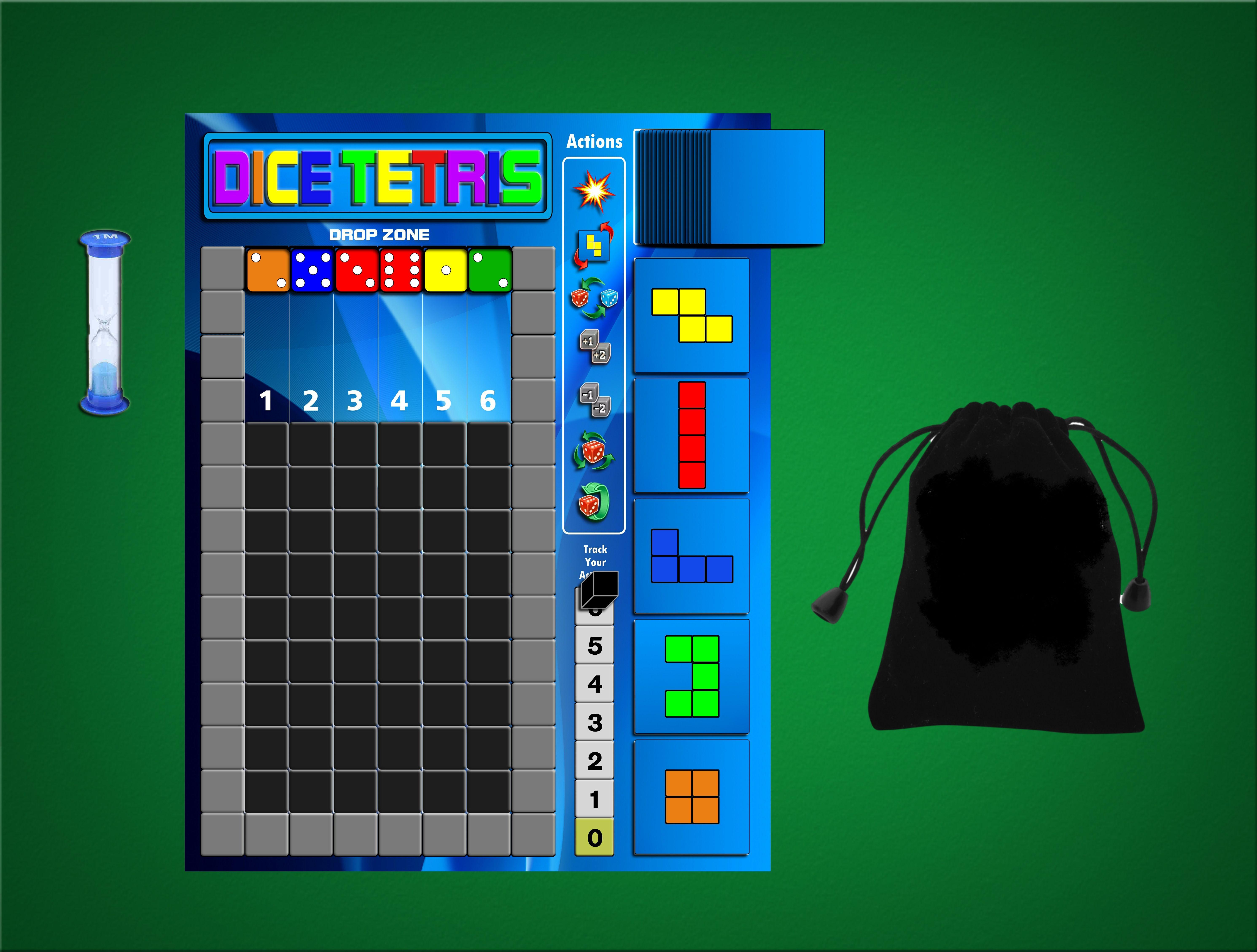 Dice Tetris