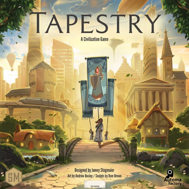 Tapestry Board Game Boardgamegeek