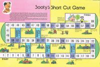 Board Game: Sooty's Short Cut Game