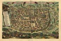 RPG Item: Antique Maps 25: Jerusalem of the 1600's