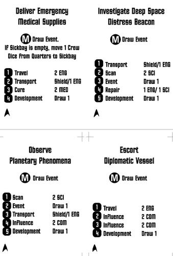 Board Game: Star Trek: The Dice Game