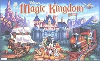 Board Game: Disney Magic Kingdom Game