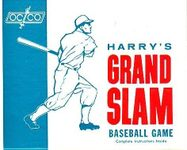 Board Game: Harry's Grand Slam Baseball Game