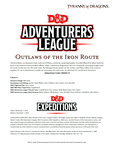 RPG Item: DDEX1-09: Outlaws of the Iron Route