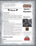 RPG Item: Leagues of Gothic Horror Appendix 7: Shapeshifters