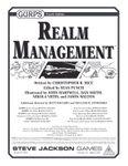 RPG Item: GURPS Realm Management