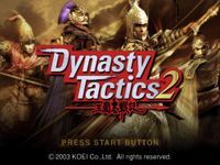 Video Game: Dynasty Tactics 2