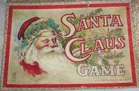 Board Game: Santa Claus Game