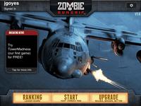 Video Game: Zombie Gunship