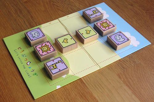 Board Game: Let's Catch the Lion!