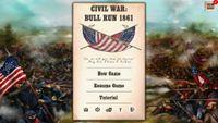 Video Game: Civil War: Bull Run 1861