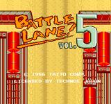Video Game: Battle Lane Vol. 5