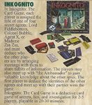 Board Game: Inkognito: The Card Game
