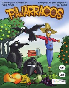 Pajarracos Cover Artwork